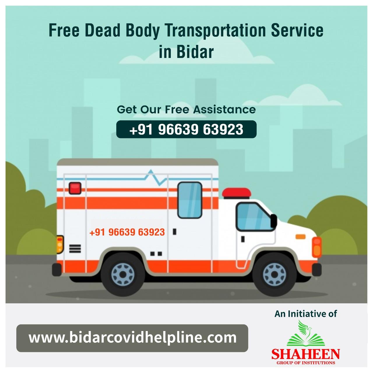 Free Dead Body Transportation Service